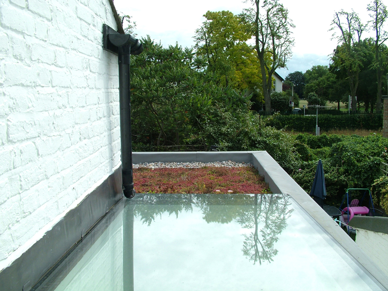 Kitchen extension_roof