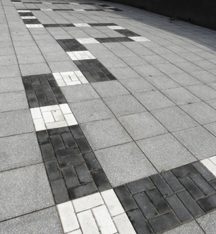 Romford subway_Paving