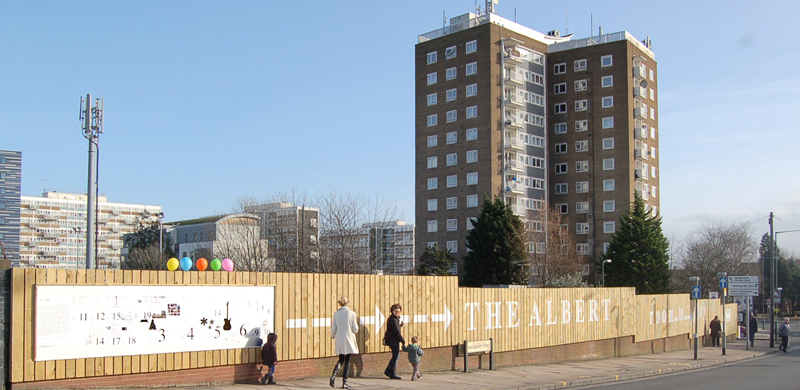 The Albert, South Kilburn, Queens Road